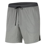 Nike Men's Flex Stride 7 Inch Short Iron Grey / Heather / Reflective Silver - achilles heel