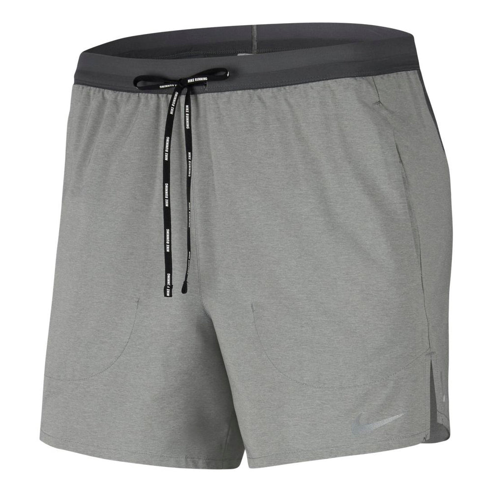 Nike Men's Flex Stride 2 In 1 5 Inch Shorts Iron Grey / Reflective Silver - achilles heel