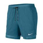 Nike Men's Flex Stride 2 In 1 5 Inch Shorts Blustery / Reflective Silver - achilles heel