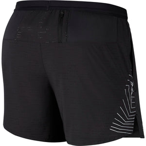 Nike Men's Flex Stride Future Fast 5 Inch Shorts Black / Reflective Silver - achilles heel