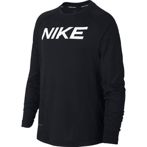 Nike Boys Pro Fitted Top Black / White - achilles heel