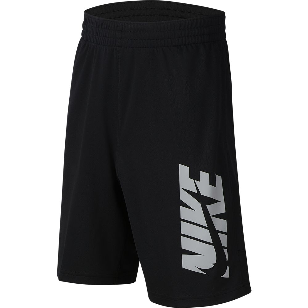 Nike Boys HBR Short Black / Light Smoke / Grey - achilles heel