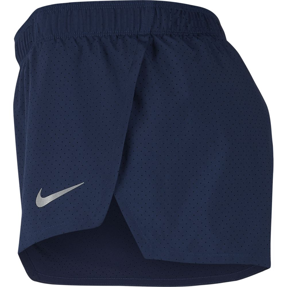 Nike Men's Fast 2 Inch Short Midnight Navy / Reflective Silver - achilles heel