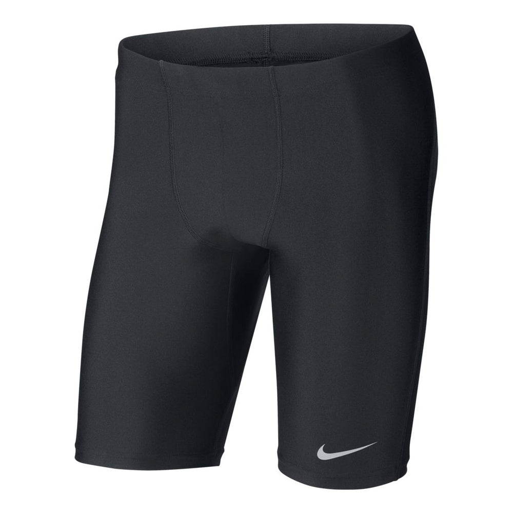 Nike Men's Fast Half Tight Black / Reflective Silver - achilles heel