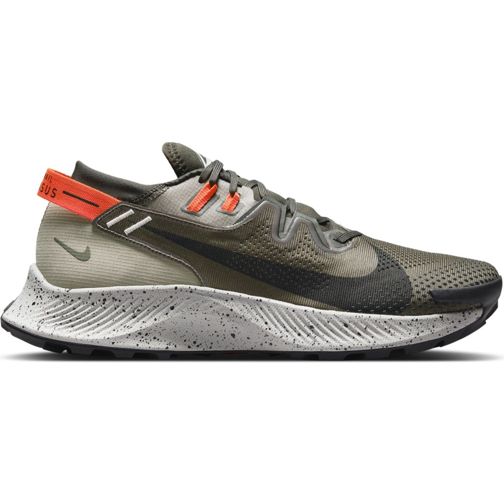 Nike Men's Pegasus 2 Trail Running Shoes Cargo Khaki / Black /  Light Army - achilles heel