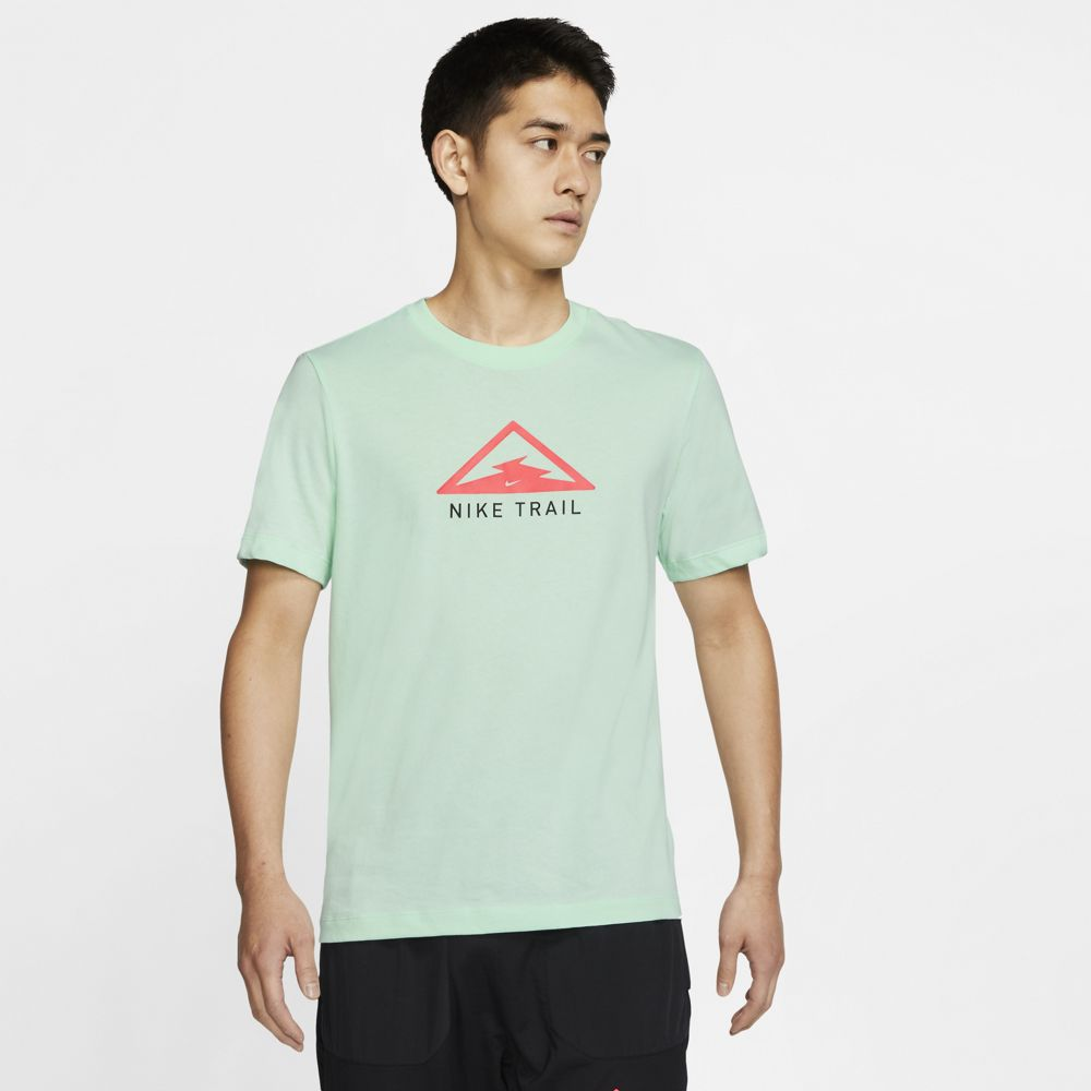 Nike Men's Dri-Fit Trail Tee Mint Foam - achilles heel