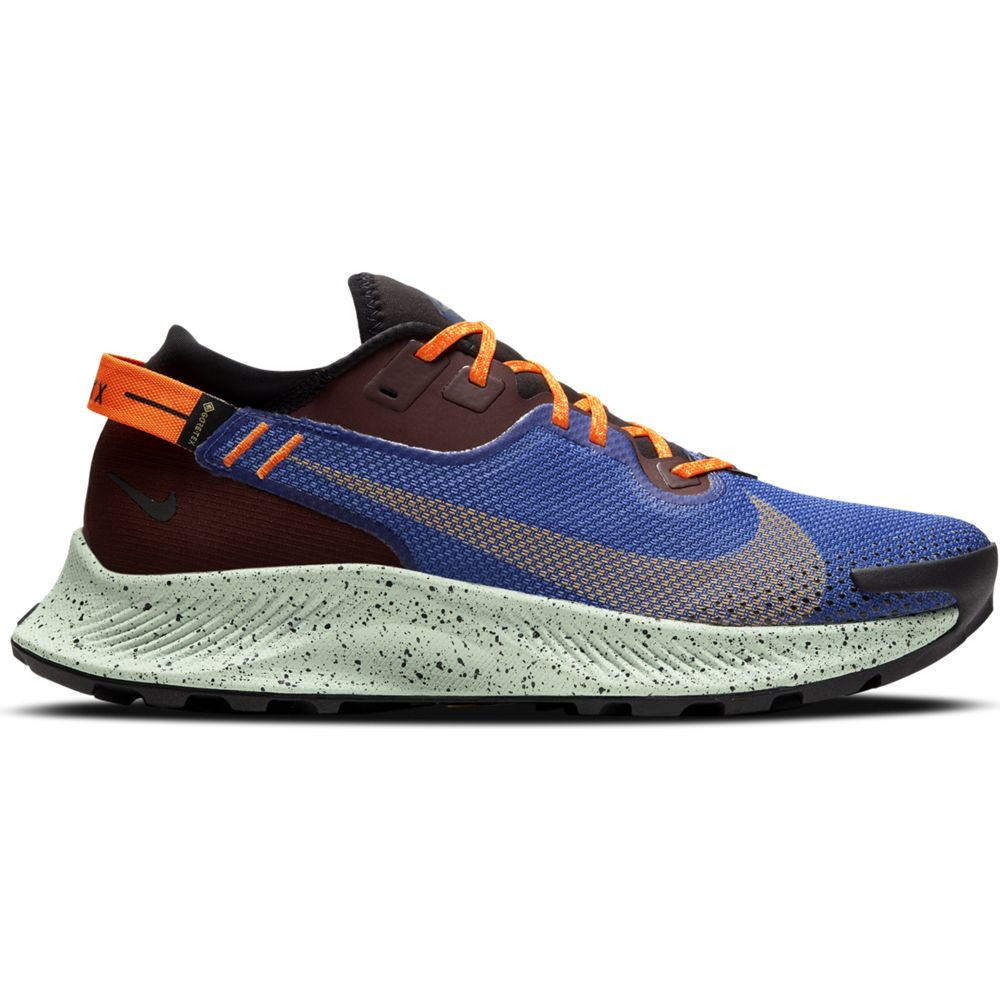 Nike Men's Pegasus Trail 2 GORE-TEX Trail Running Shoes Mystic Dates / Laser Orange - achilles heel