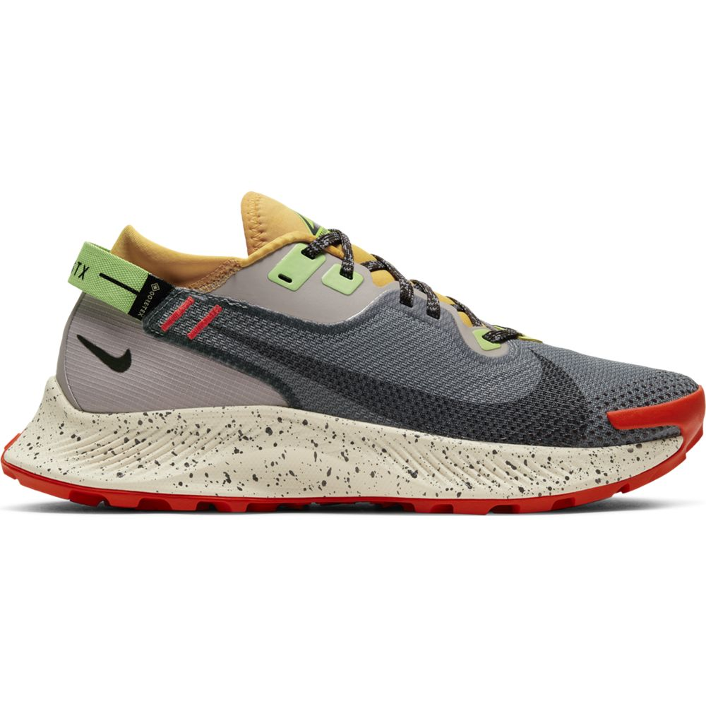 Nike Women's Pegasus 2 GORE-TEX Trail Running Shoes Smoke Grey / Black / Buck Tan - achilles heel