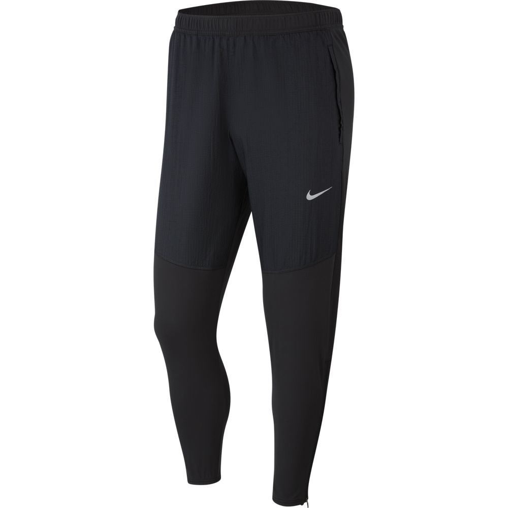 Nike Men's Essential Therma Pant Black / Reflective Silver - achilles heel