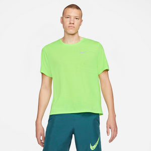 Nike Men's Miler Tee Ghost Green - achilles heel