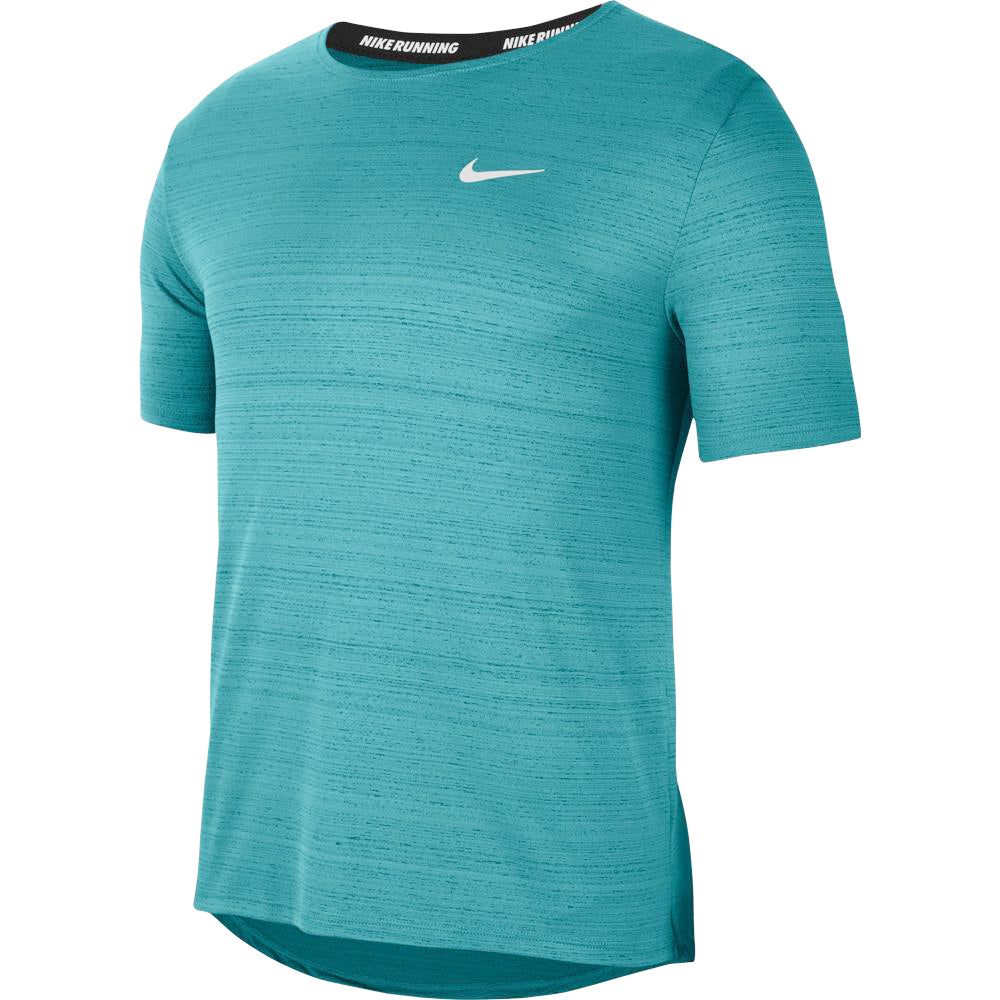 Nike Men's Miler Tee Blustery / Reflective Silver - achilles heel