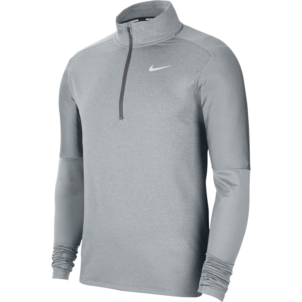 Nike Men's Dri-FIT Element Top Smoke Grey / Grey Fog / Reflective Silver - achilles heel