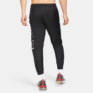 Nike Men's Essential Run Division Pant Black - achilles heel