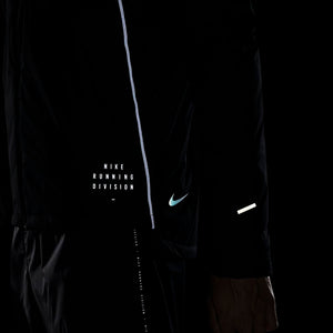 Nike Men's Run Division Dynamic Vent Jacket Black / Reflective Silver - achilles heel