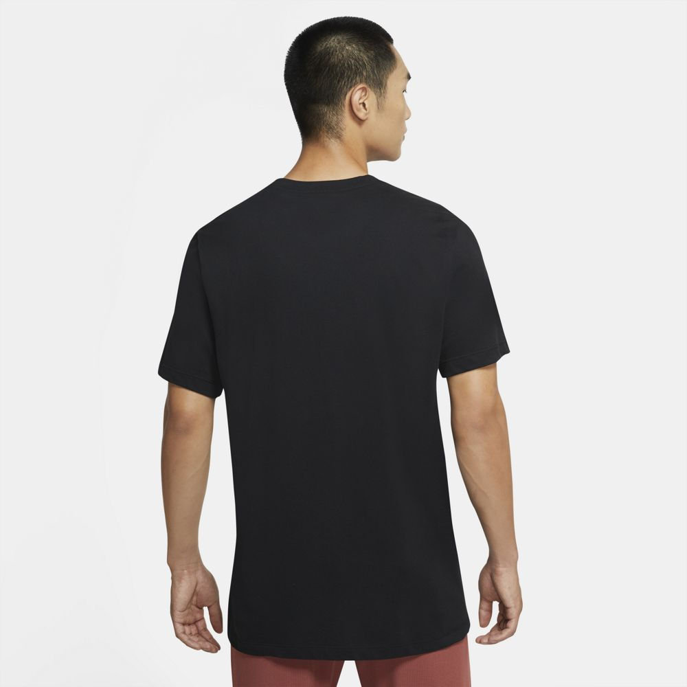 Nike Men's Dri-FIT Running Tee Black - achilles heel