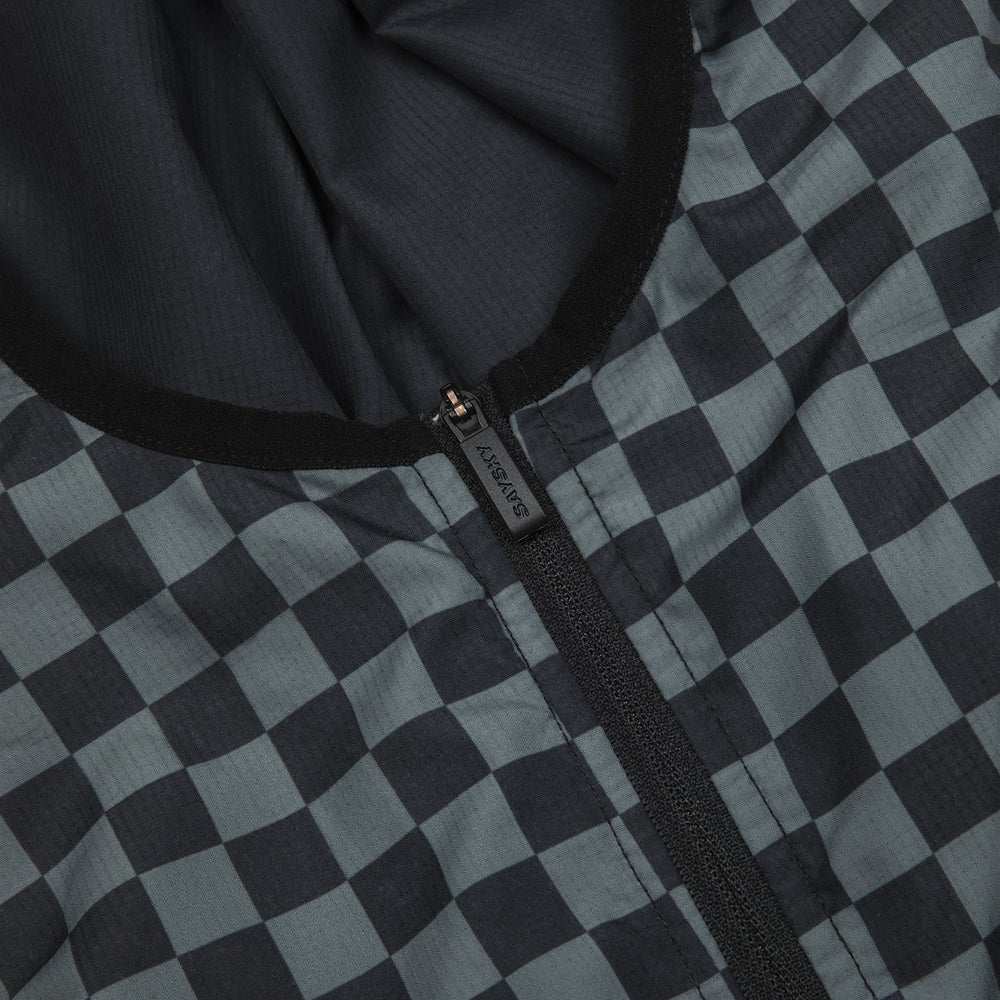 SAYSKY Checker Pace Anorak Checkerboard - achilles heel