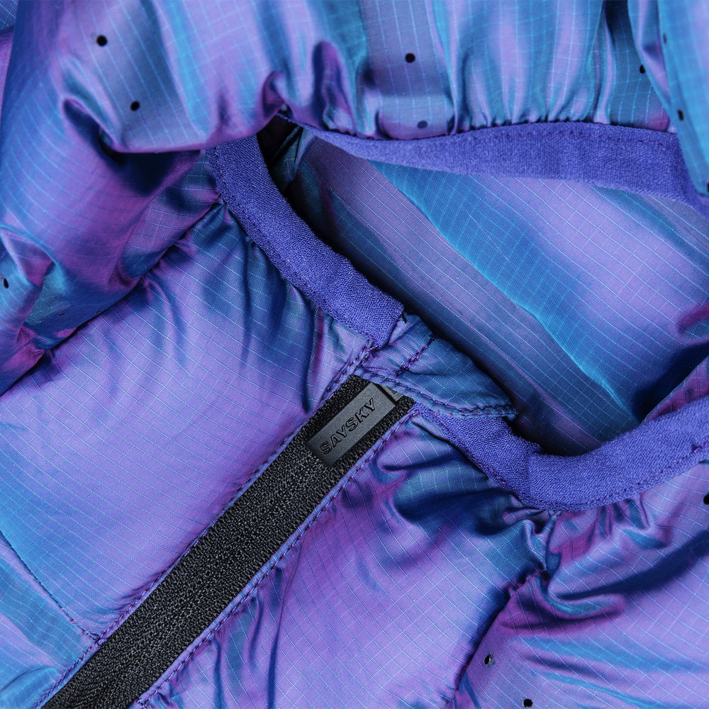 SAYSKY Clean Blaze Jacket Purple Iridescence - achilles heel