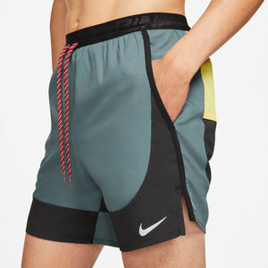 Nike Men's Flex Stride Wild Run 7 Inch Shorts Hasta / Black - achilles heel