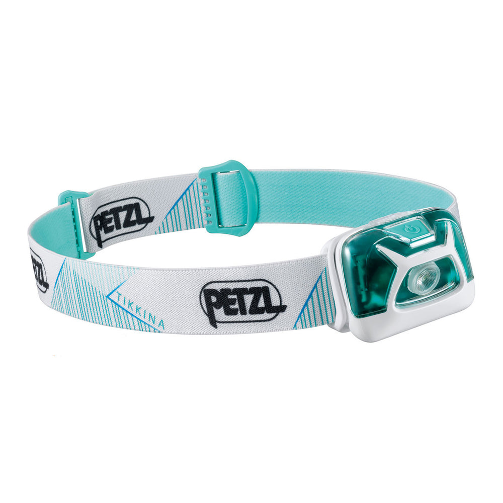 Petzl Tikkina Head Torch White / Green - achilles heel
