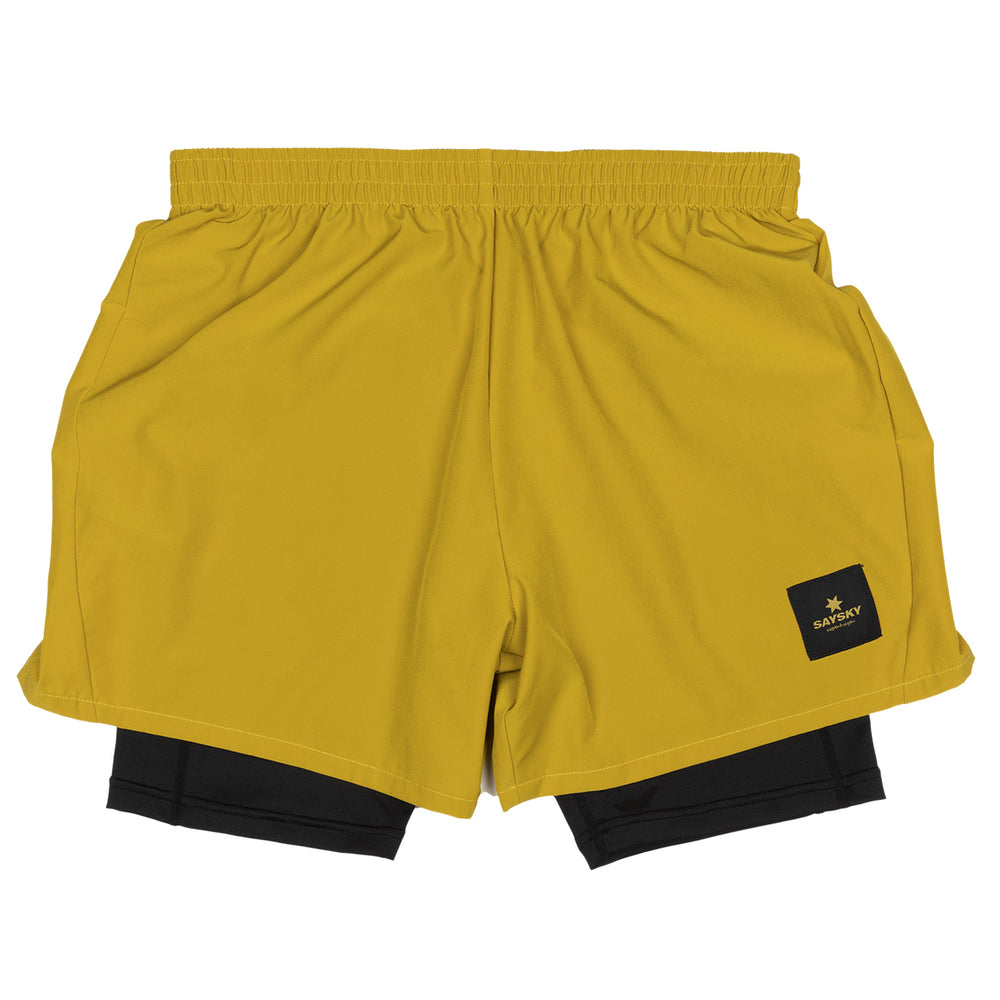 SAYSKY 2 In 1 Shorts Olive Oil - achilles heel