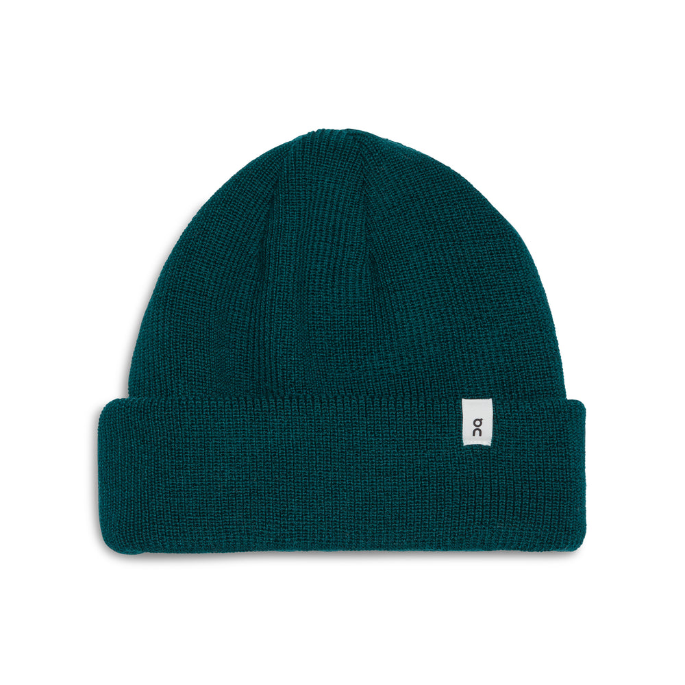 On Merino Beanie Evergreen - achilles heel