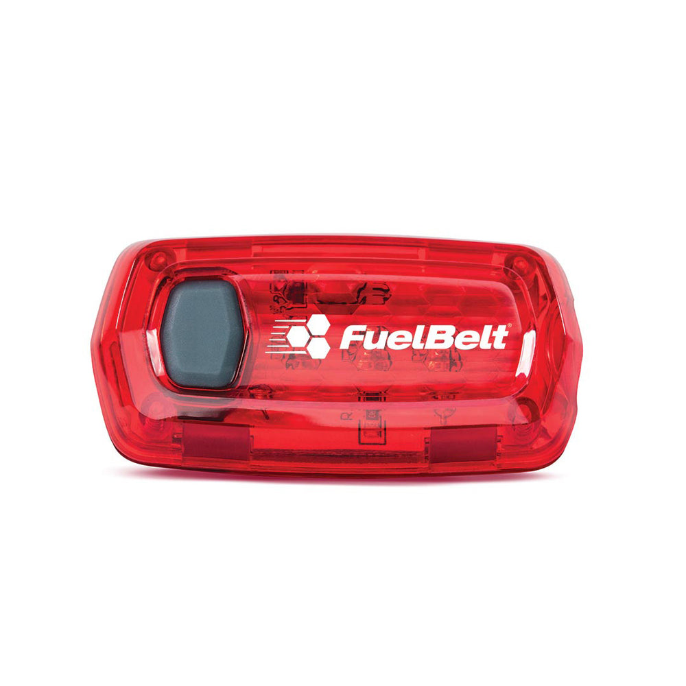 FuelBelt Fire Light Clip Red
