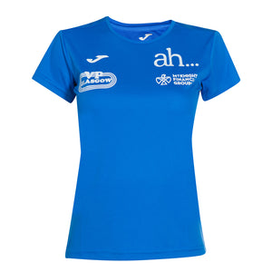 Victoria Park City Of Glasgow AC Tee Women's Royal - achilles heel