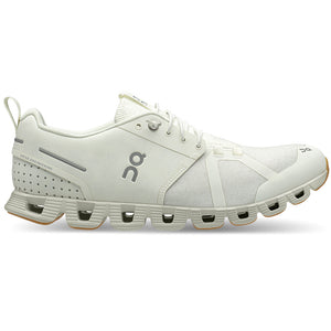 On Women's Cloud Terry Running Shoes White - achilles heel