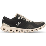On Women's Cloud X Running Shoes Black / Pearl - achilles heel