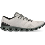 On Men's Cloud X Running Shoes Glacier / Olive - achilles heel