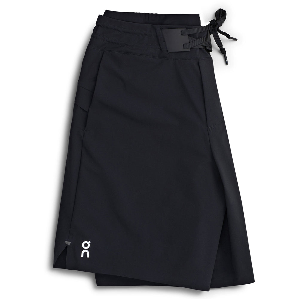 On Men's Hybrid Shorts Black - achilles heel