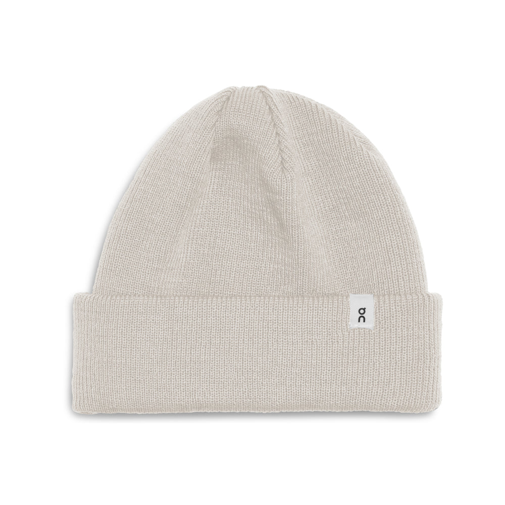 On Merino Beanie White - achilles heel