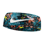 Nike Fury Headband 2.0 Black / Bright Mango / White - achilles heel