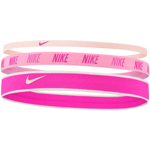 Nike Mixed Width Headbands Barely Rose / Magic Flamingo / Fire Pink - achilles heel