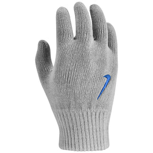 Nike Kids Swoosh Knit Gloves Grey - achilles heel