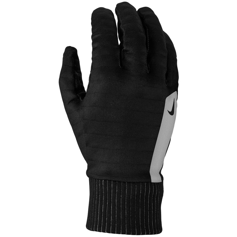 Nike Men's Flash Sphere Run Gloves Black / Silver