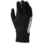 Nike Men's Flash Sphere Run Gloves Black / Silver - achilles heel