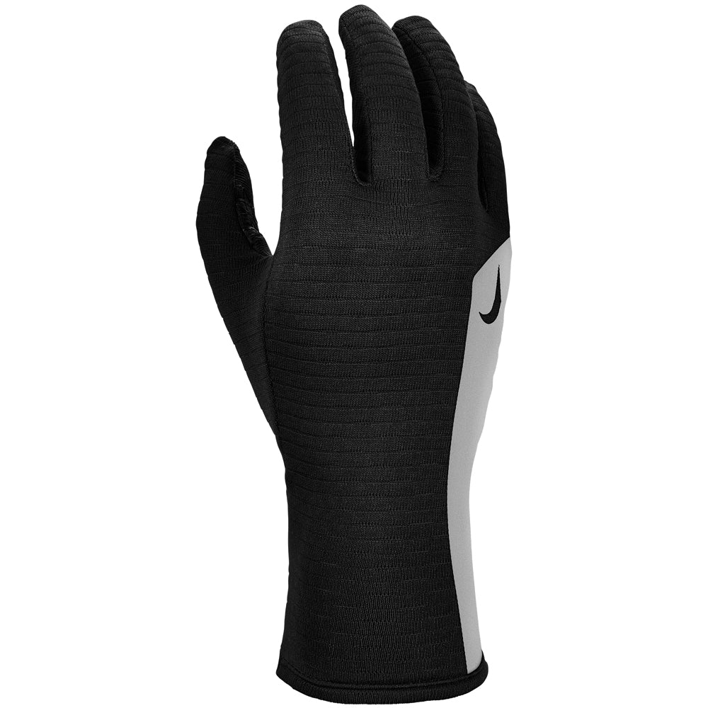 Nike Women's Flash Sphere Run Gloves Black / Silver - achilles heel