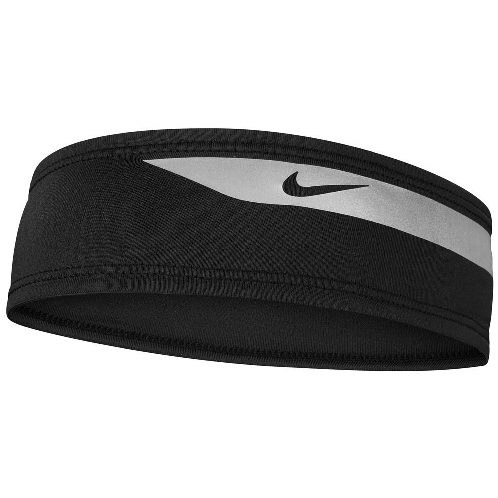 Nike Dri-Fit Flash Headband Black / Silver - achilles heel