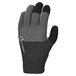 Nike Kids Knitted Tech Grip Graphic Gloves 2.0 Anthracite / Black / White - achilles heel