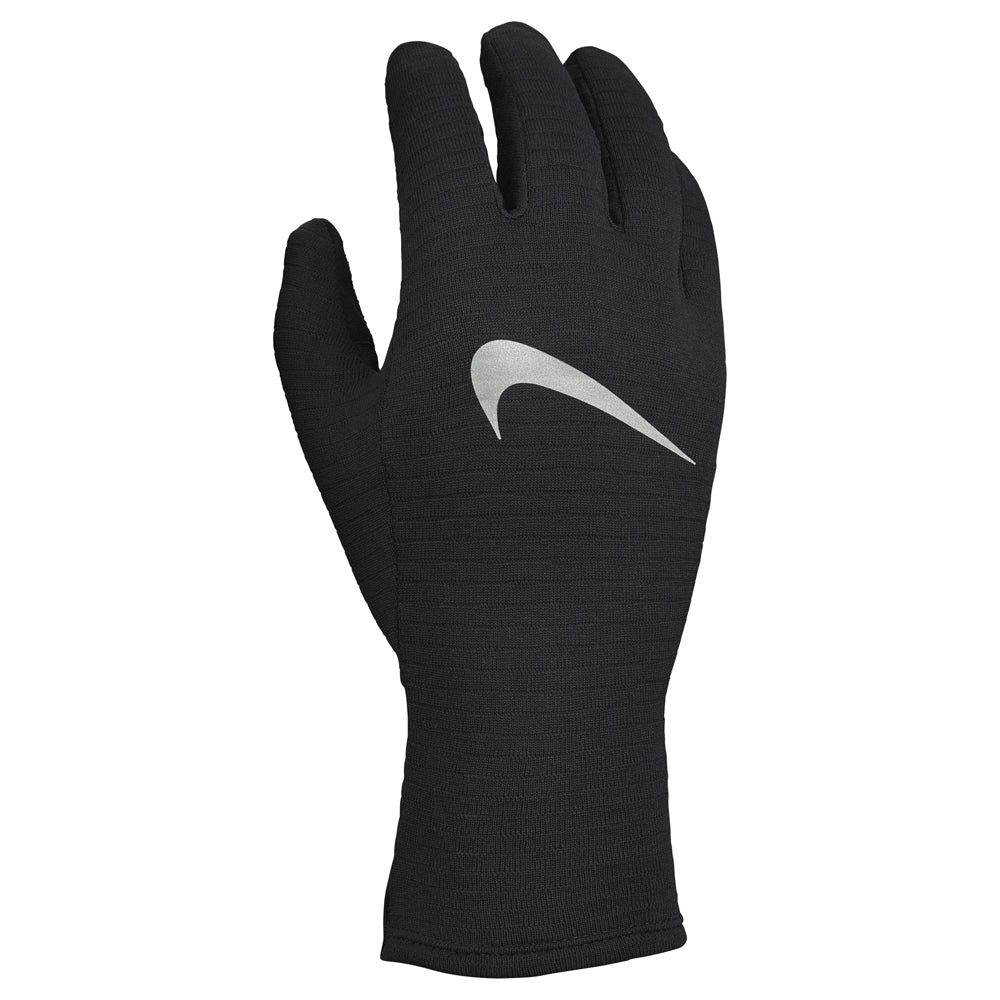 Nike Women's Sphere Running Gloves 3.0 Black / Black / Silver - achilles heel