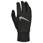 Nike Men's Accelerate Running Gloves 2.0 Black / Black / Silver - achilles heel