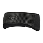 Nike Women's 360 Fleece Headband Black / Silver - achilles heel