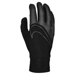 Nike Women's 360 Lightweight Tech Running Gloves Black / Black / Silver - achilles heel