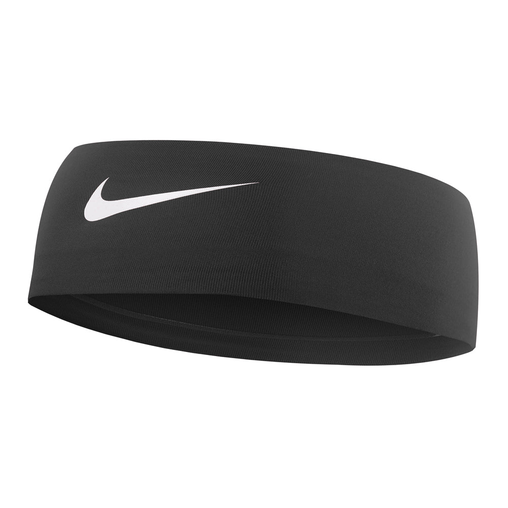 Nike Dry Wide Headband Black / White - achilles heel