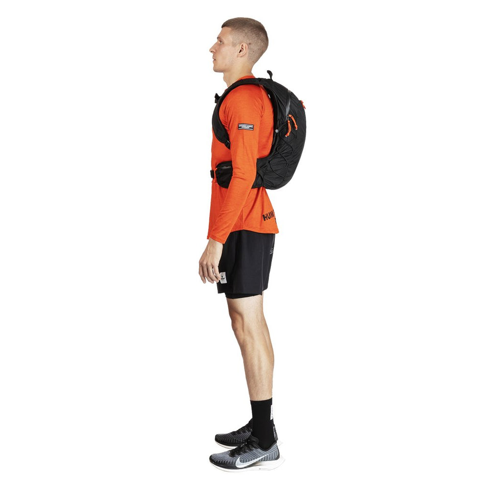SAYSKY Running Commuter Backpack Black - achilles heel