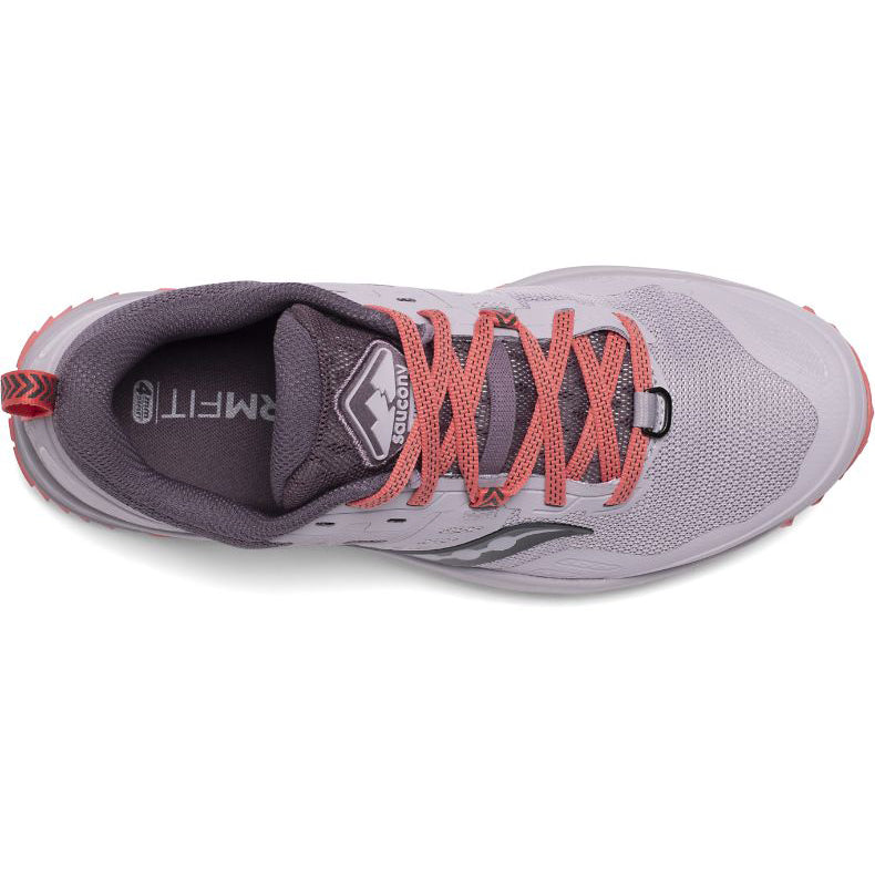 Saucony Women's Peregrine 10 Trail Running Shoes Dusk - achilles heel