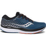 Saucony Men's Guide 13 Running Shoes Blue / Silver - achilles heel