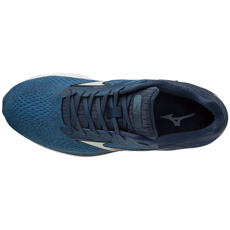 Mizuno Men's Wave Rider 23 Running Shoes Campanula / Vapor Blue