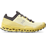 On Men's Cloudultra Trail Running Shoes Limelight / Eclipse - achilles heel